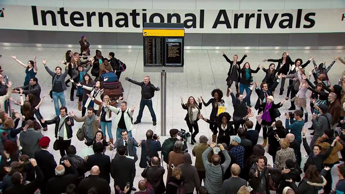 heatrow-airport-flash-mob