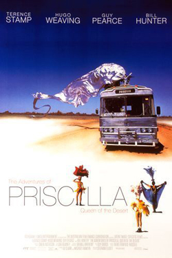 The adventure of  Priscilla, Queen of the Desert , (Aus) 1994, directed by Stephan Elliott
