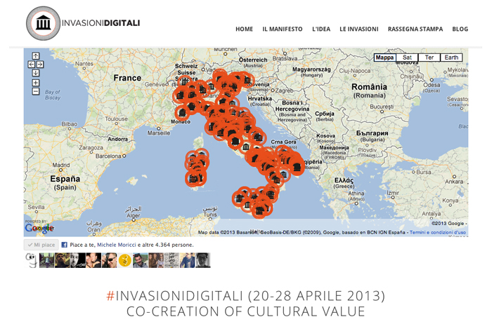 #invasionidigitali