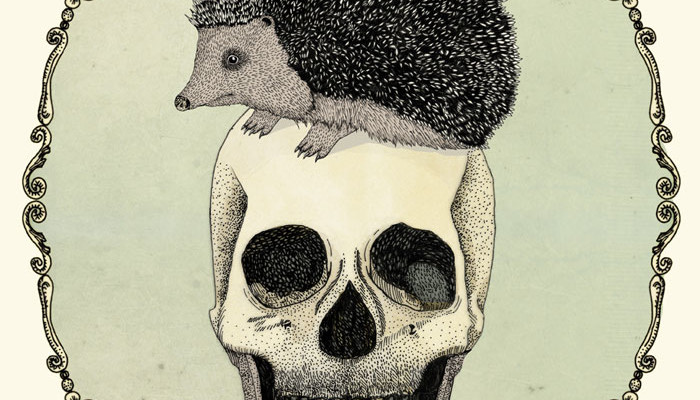 yojik-on-a-skull---pen-on-paper-and-digital-coloringByNoaAlon