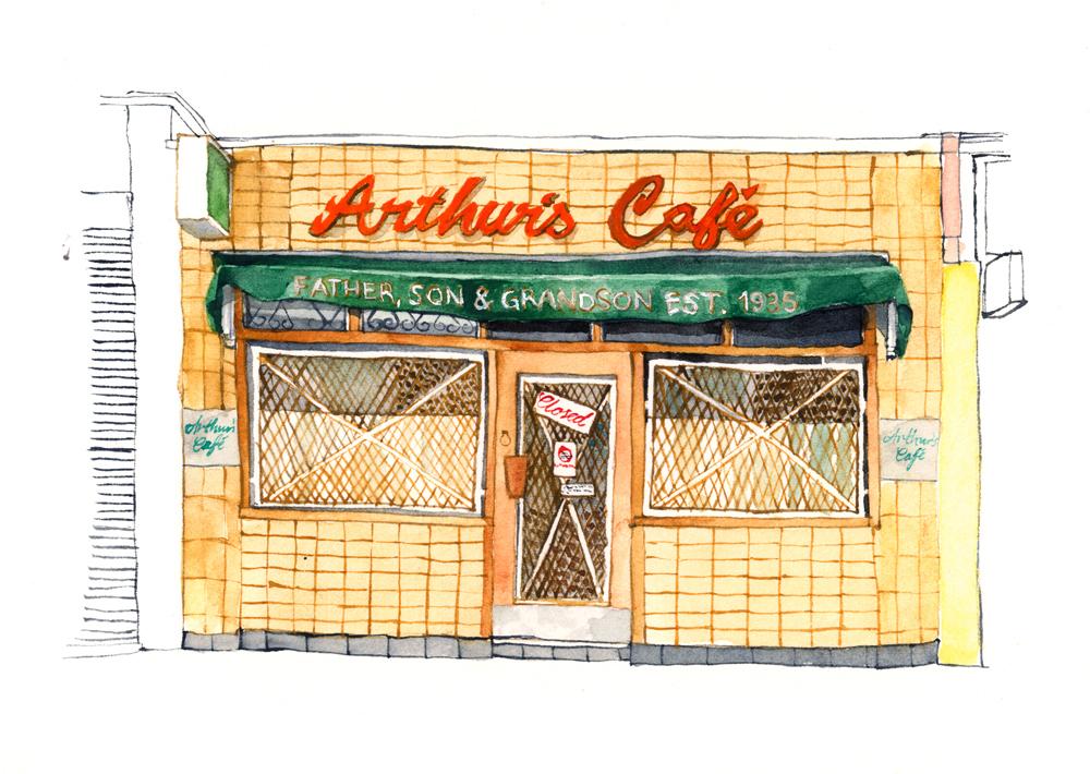 Arthur's CafŽ