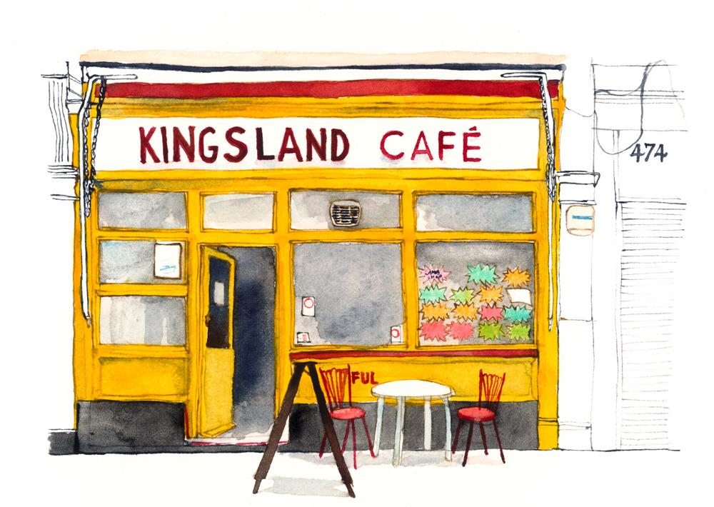 Kingsland CafŽ