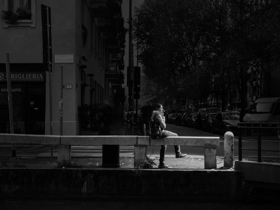 Milan, 2012. Alzaia Naviglio Pavese.
