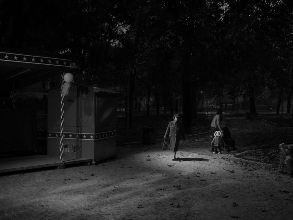Milan, 2012. Giardini Don Giussani. 2