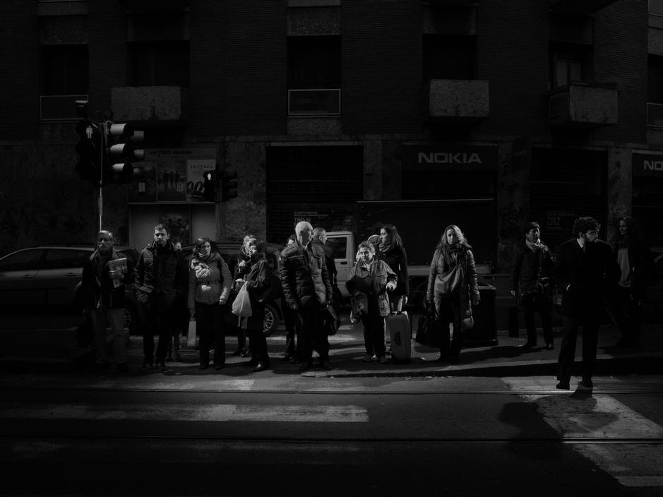 Milan, 2012. Via Andrea Solari.