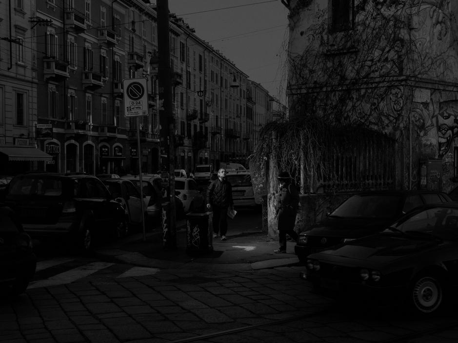 Milan, 2012. Viale Gorizia incrocio Via Vigevano.