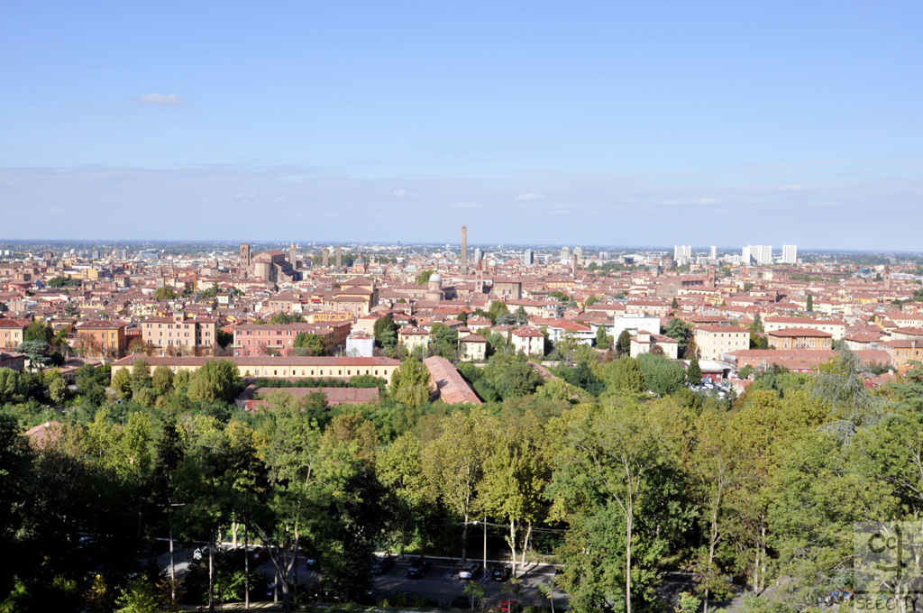 Vista da San Michele in Bosco