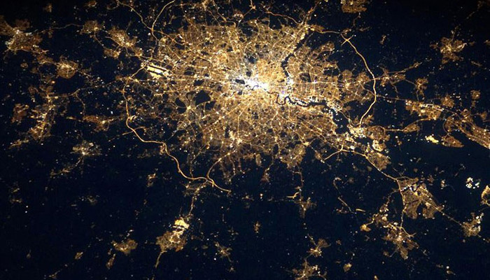 london-from-space
