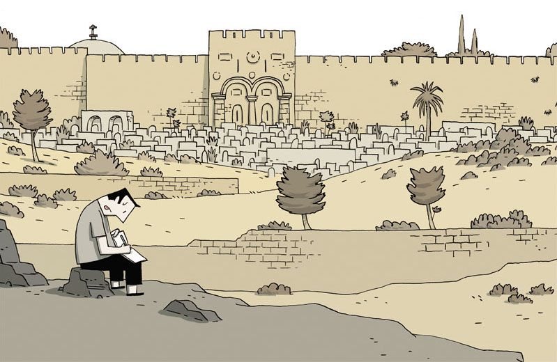 Guy Delisle Gerusalemme