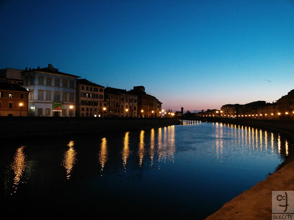 Pisa-Arno-tramonto