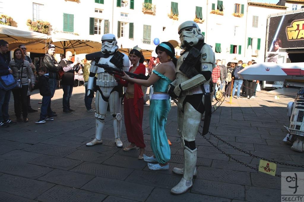 LuccaComics2014 - Piazza Anfiteatro