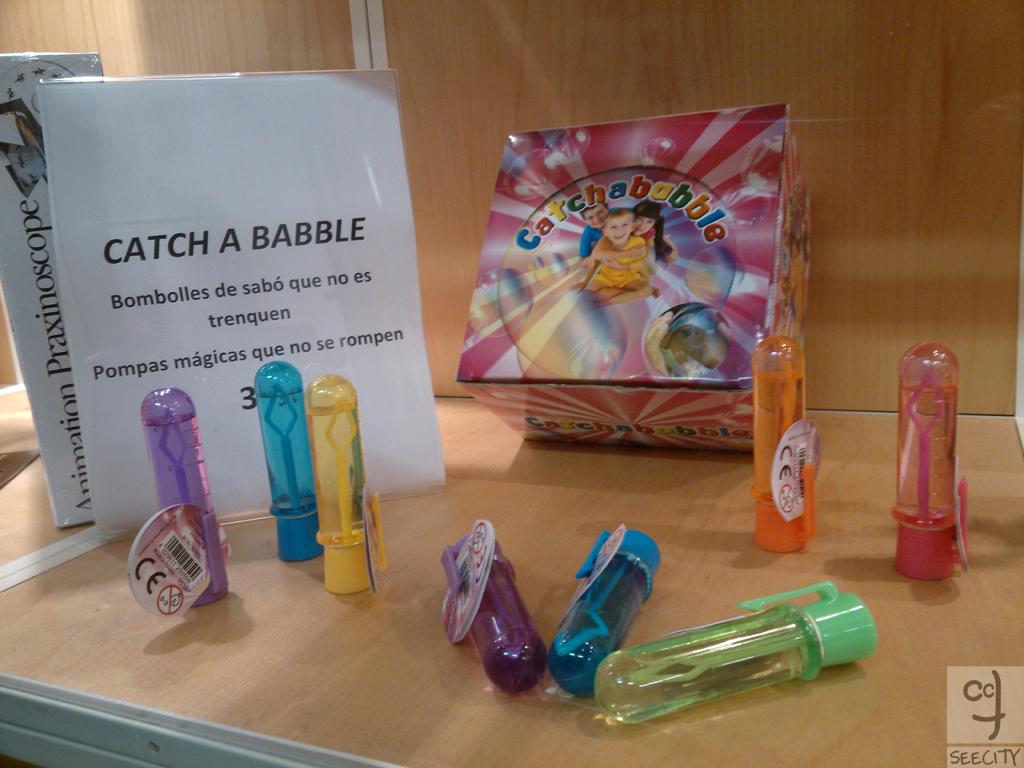 MiBa-Not popping soap bubbles