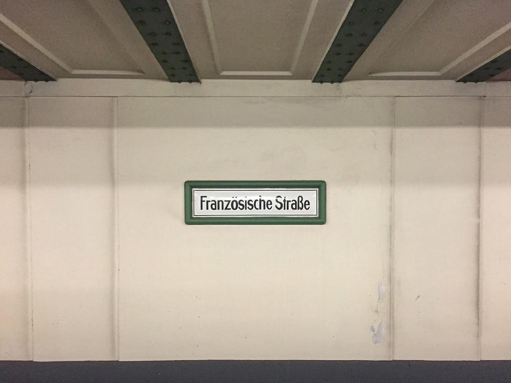 BerlinMemories-FranzosischeStrasse-Ubahn