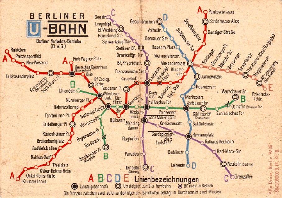 BerlinMemories-vintageMap-Ubahn