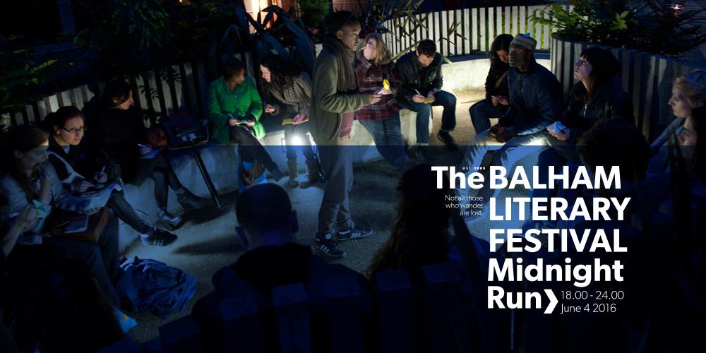 THE BALHAM LITERARY FESTIVAL 2016