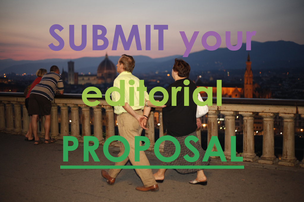 Submit your editorial proposal!