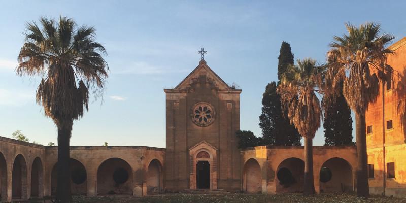 Chiesa di Sant'Antonio Abate, Monteruga, un paese fantasma (Lecce)