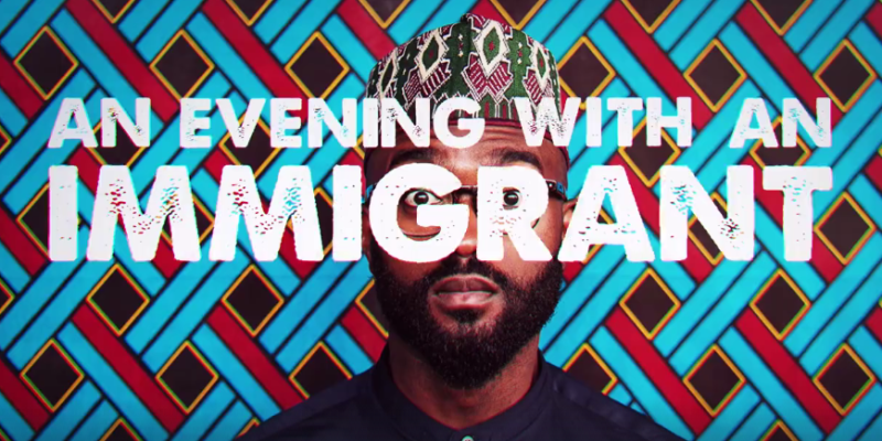 Inua Ellams - An Evening With An Immigrant - 2016