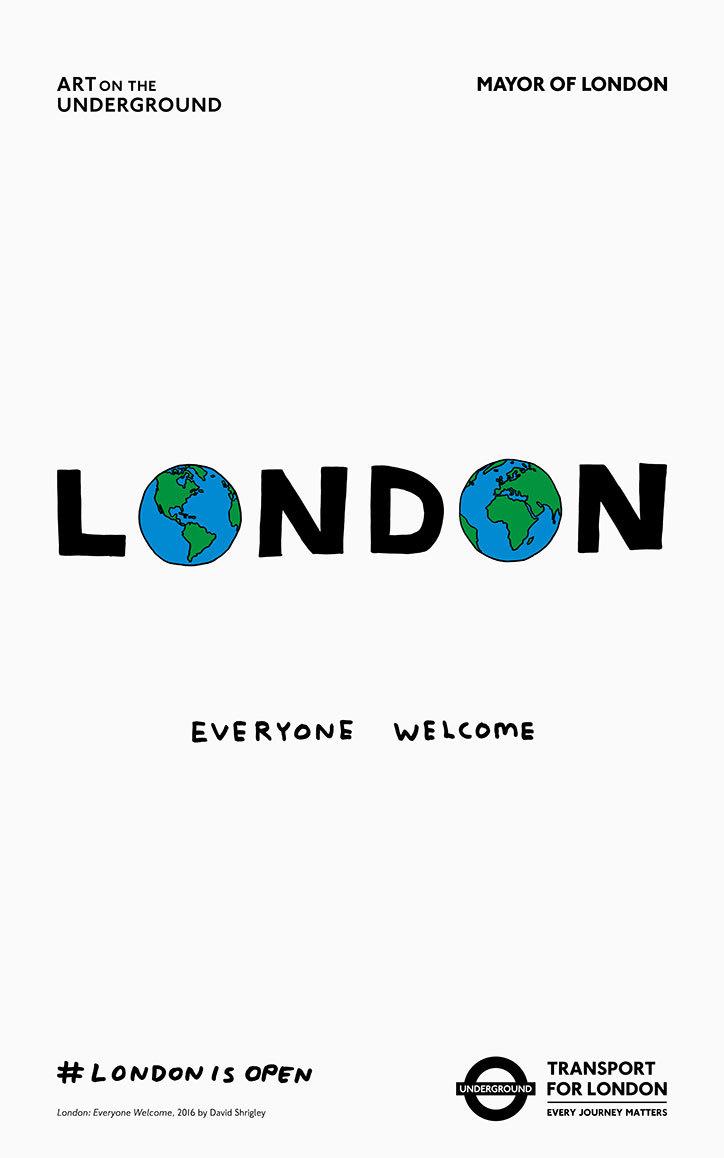 #LondonIsOpen underground campaign - 001