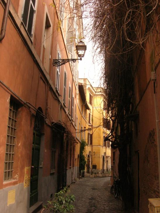 Trastevere_-_Vicolo_del_Bologna