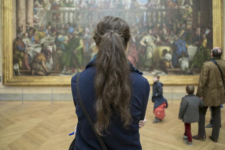 Mona Lisa, Louvre, Paris, France