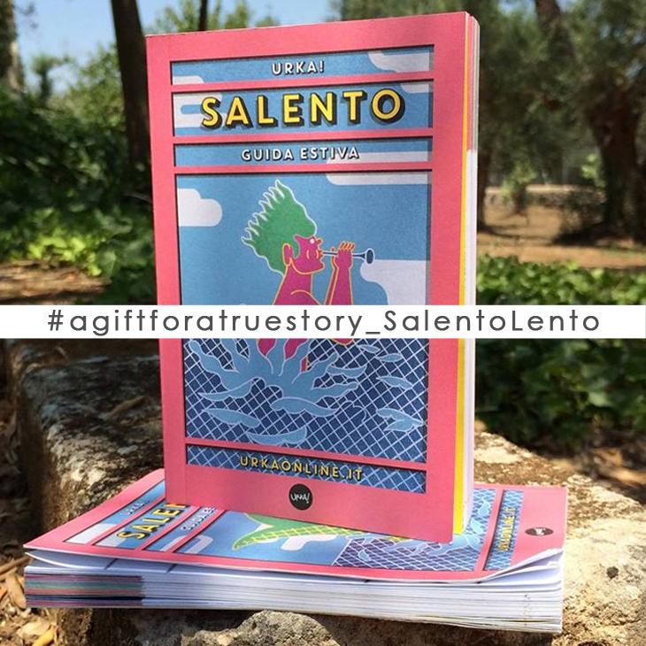 #agiftforatruestory_SalentoLento