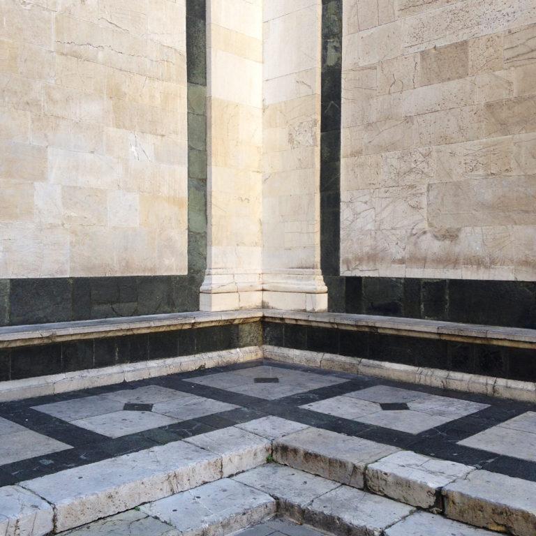 Basilica Santa Maria delle Carceri, detail
