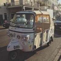 Ape Calessino The GIRA per i #CCTravellers2016 a Prato