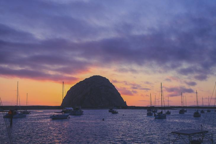 Morro_Bay_California_Sunset