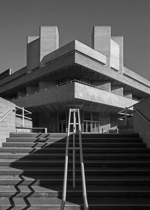 National Theatre by Denys Lasdun - London