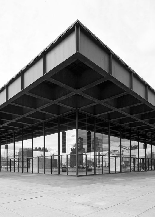 Neue Nationalgalerie by Ludwig Mies van der Rohe - Berlin