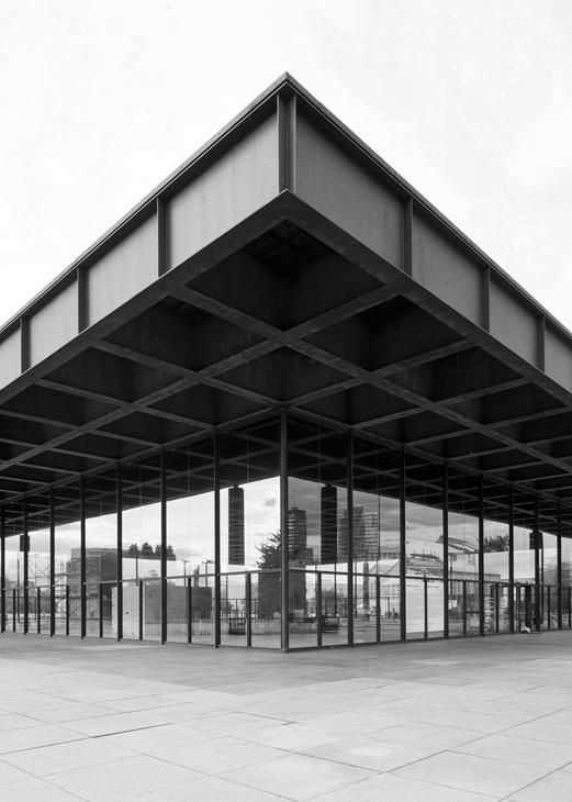 Neue Nationalgalerie by Ludwig Mies van der Rohe - Berlin