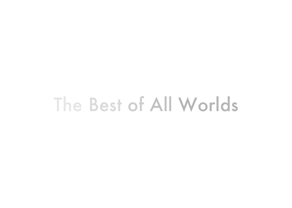 The Best of All Worlds - Nicholas Herrmann