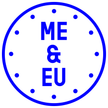 me and eu - logo
