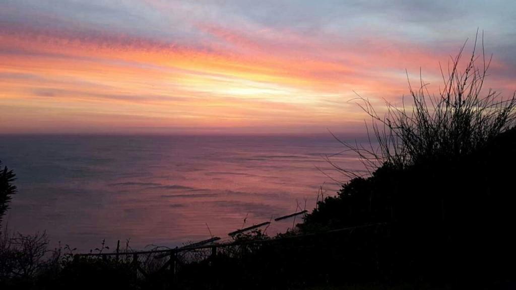 Fiorenzuola di Focara - tramonto