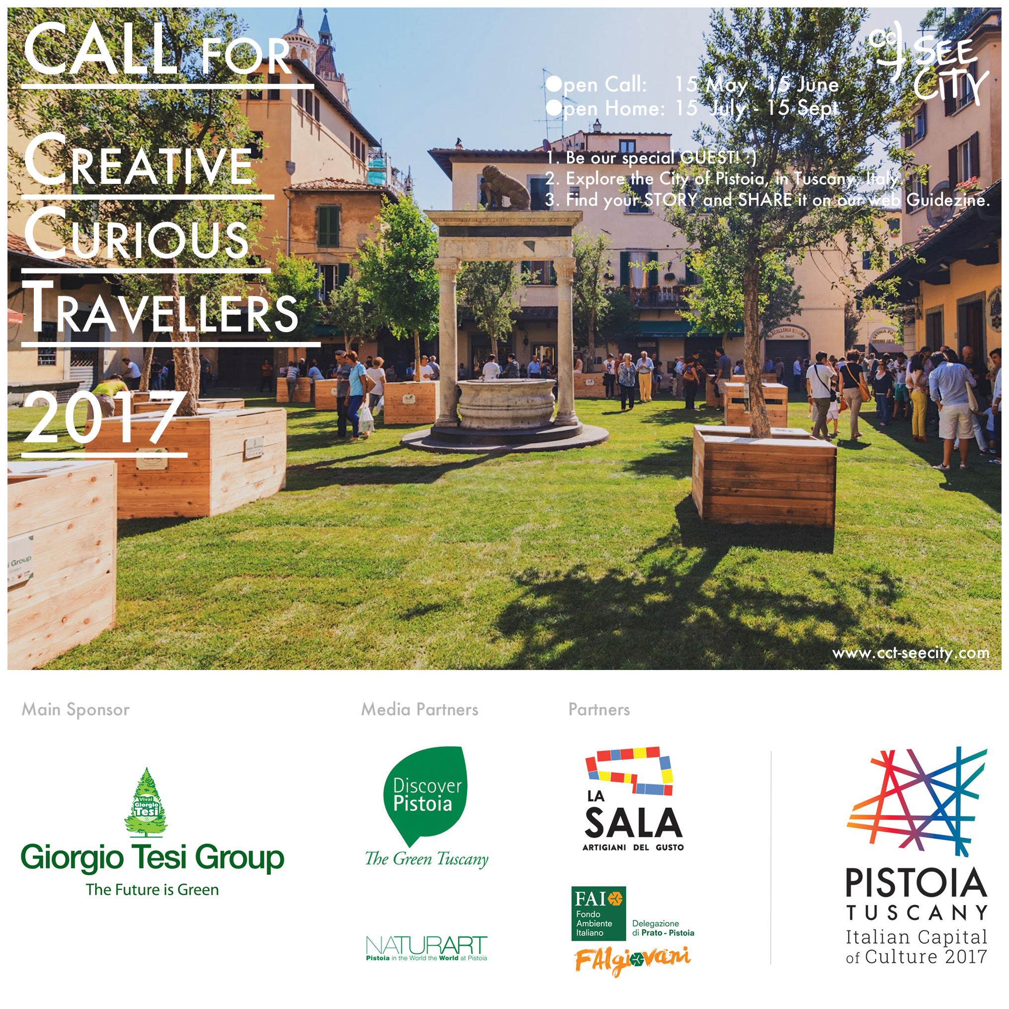 CALL for Creative Curious Travellers 2017