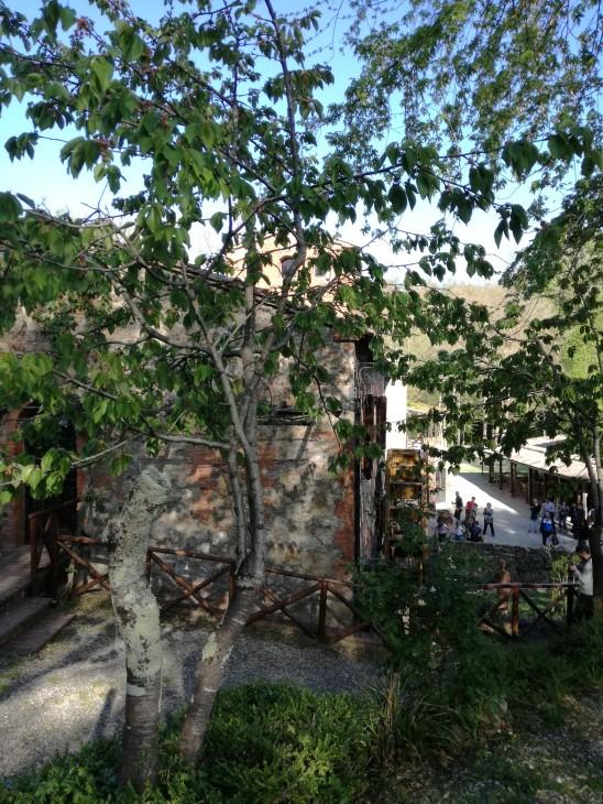 Mulino delle Pile, vista del Ristorante La Vecchia Macina