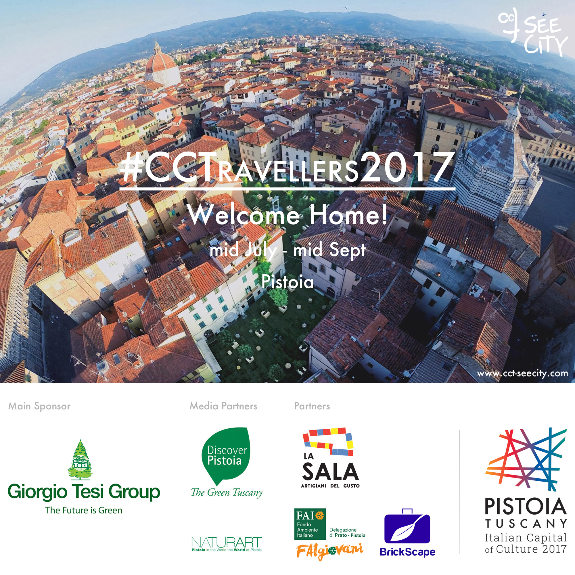 #CCTravellers2017 - Welcome Home - Pistoia