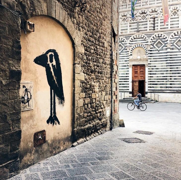 Murale a Pistoia