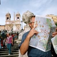 ITALY. Rome. The Spanish Steps. 1993. - Martin Parr | Magnum Photos
