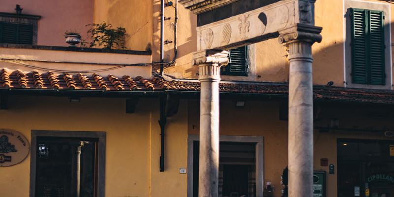 Il Pozzo del Leoncino in Piazza della Sala.