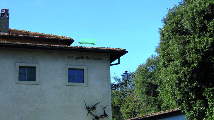 Luigi Mainolfi, Per quelli che volano, 2012. © Collezione Gori