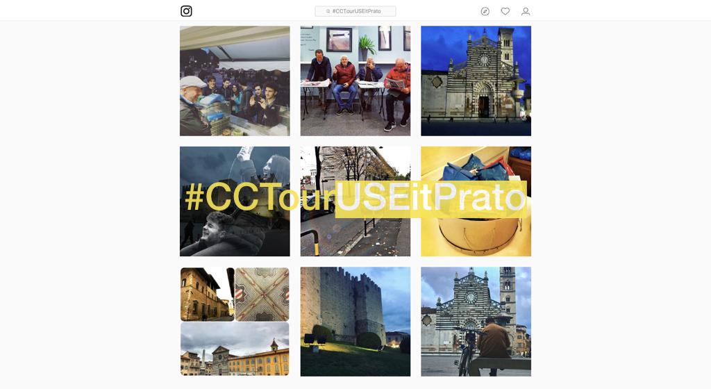 #CCTourUSEitPrato Instagram Workshop 9 Nov 2017 post cover