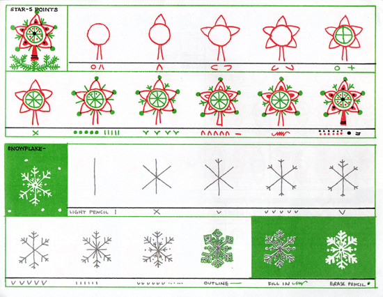 CHRISTMAS DRAWING BOOK (1986) 005