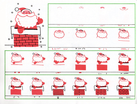 CHRISTMAS DRAWING BOOK (1986) 016