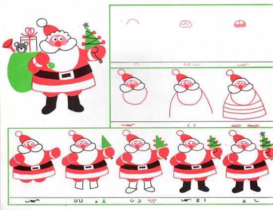 CHRISTMAS DRAWING BOOK (1986) 018