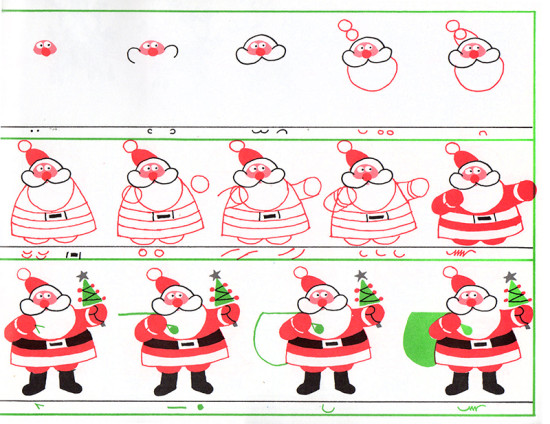 CHRISTMAS DRAWING BOOK (1986) 019