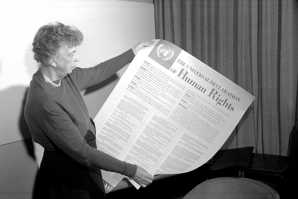 Eleanor Roosevelt - The Universal Declaration of Human Rights
