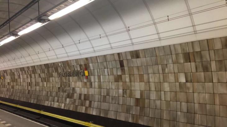 florence metro station