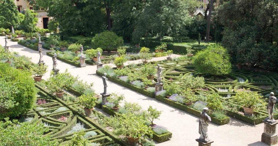 Giardino Corsini - giardino all'italiana